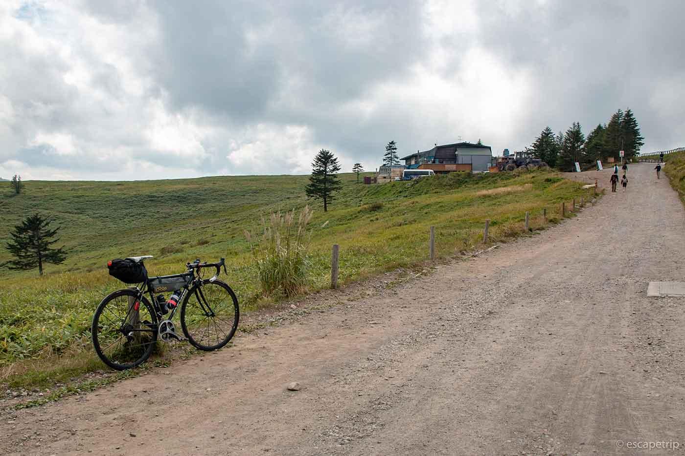 美ヶ原高原とロードバイク