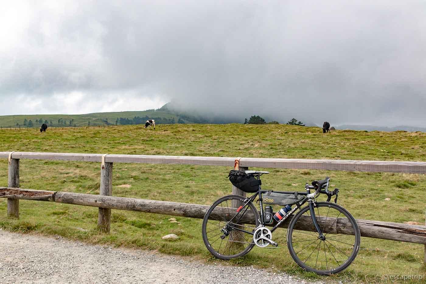 美ヶ原とロードバイク