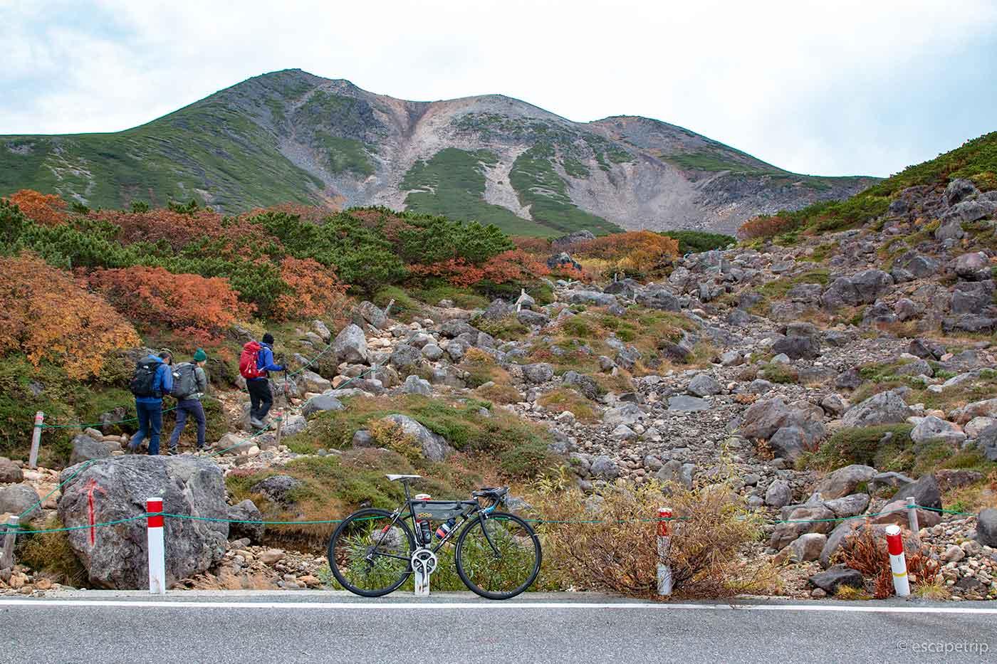 乗鞍とロードバイク
