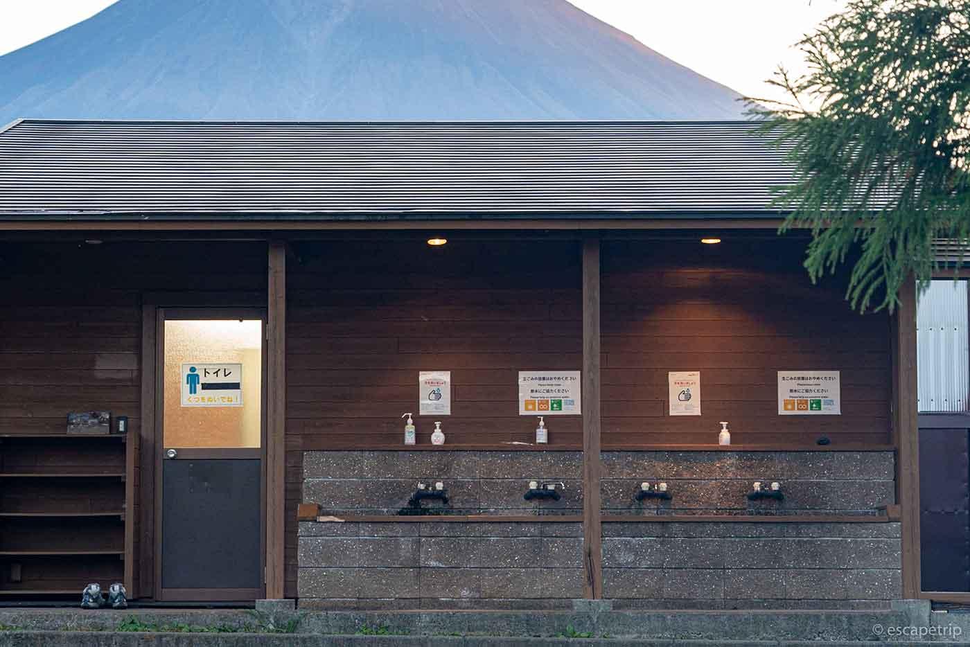 富士山YMCAの炊事場