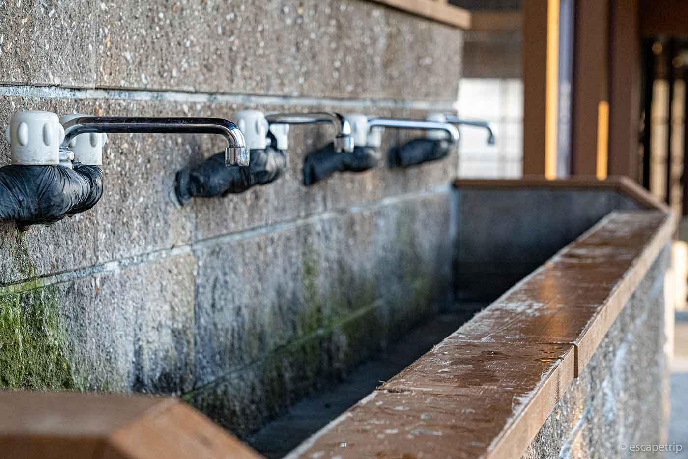 富士山YMCAの水道