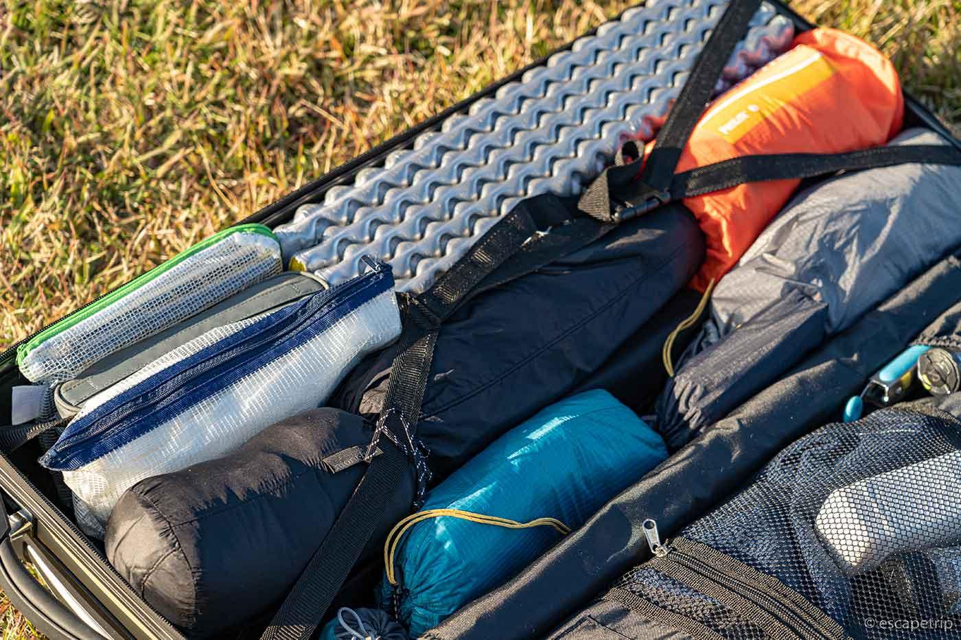 ソロキャンプ道具