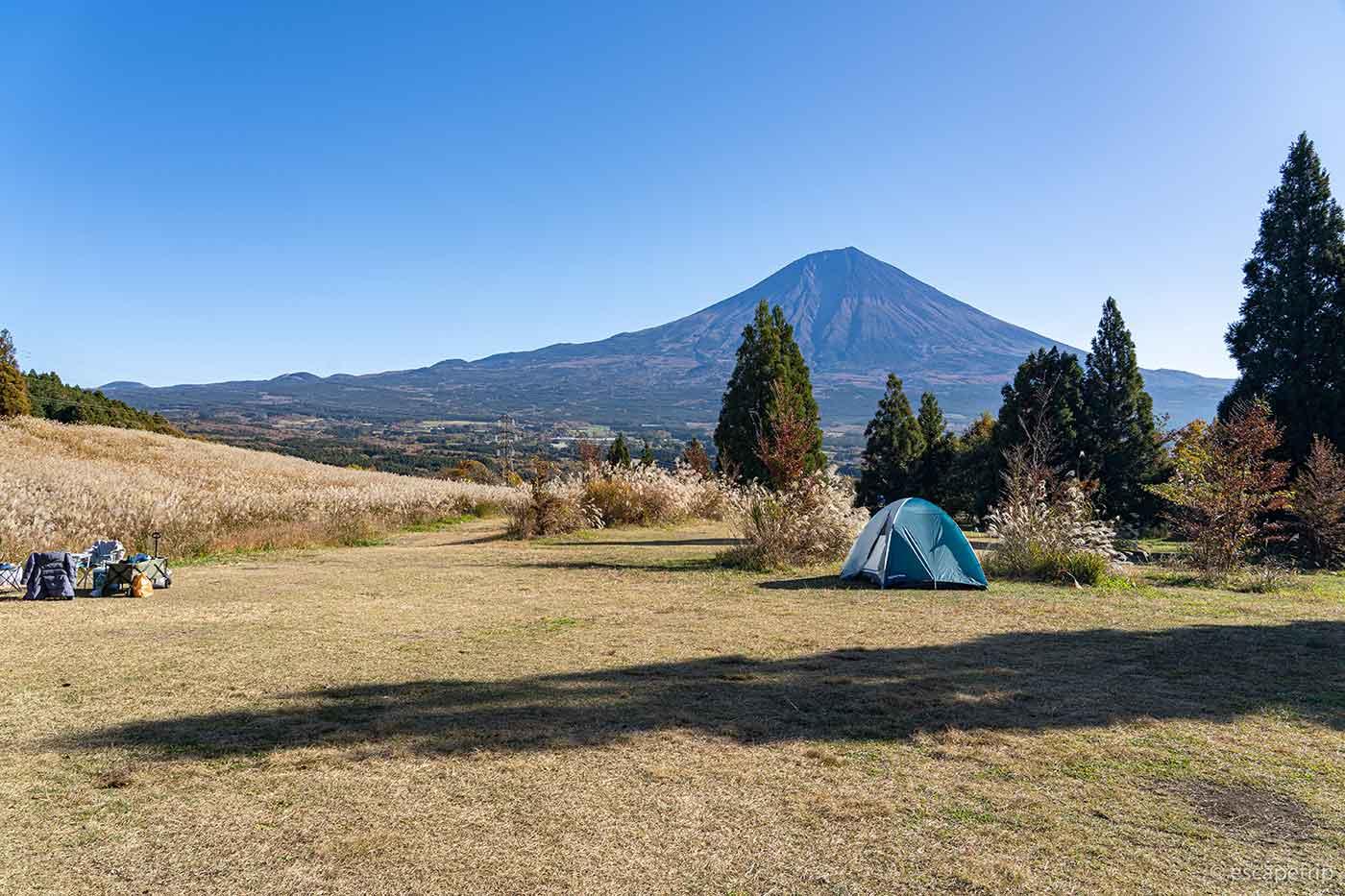 富士山YMCAの朝