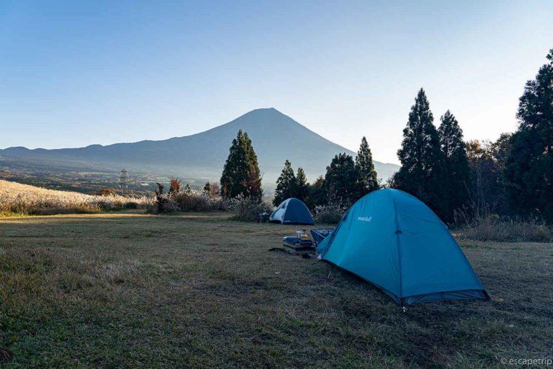 富士山YMCAとテント