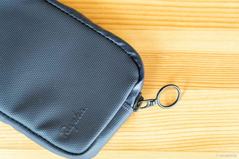 Raphaの財布のジッパーのリング