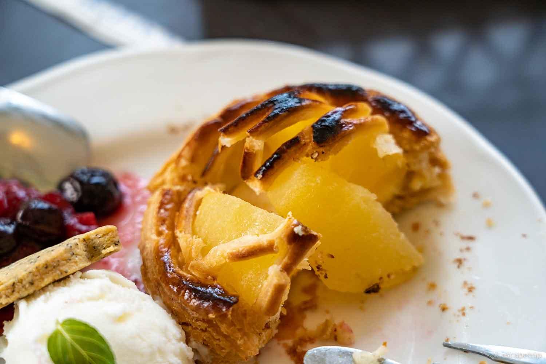 大正浪漫喫茶室のアップルパイ